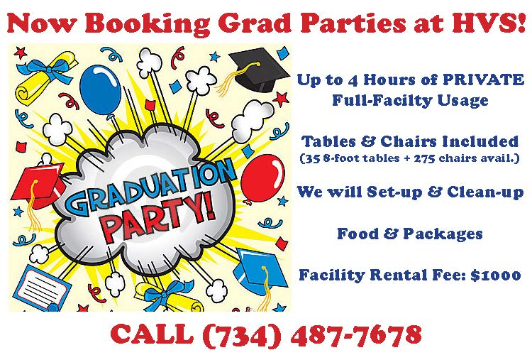 Graduation Parties at High Velocity
